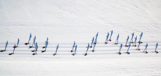muzikale skiërs