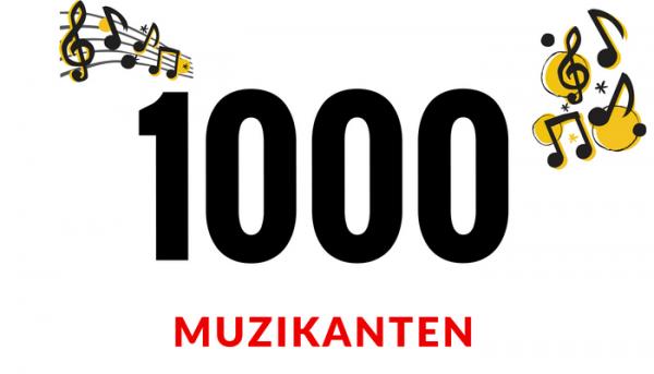 1000 muzikanten