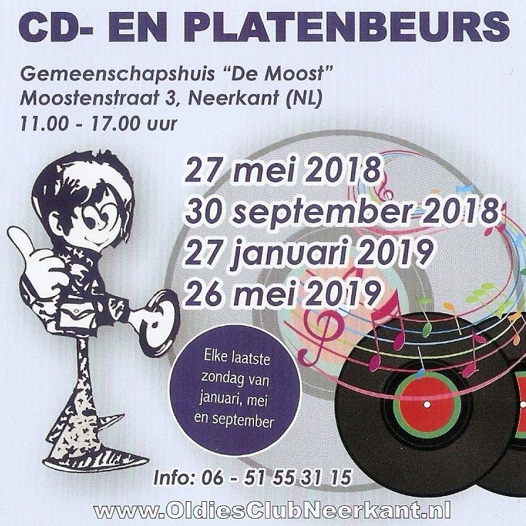 Platenbeurs Oldies Club Neerkant