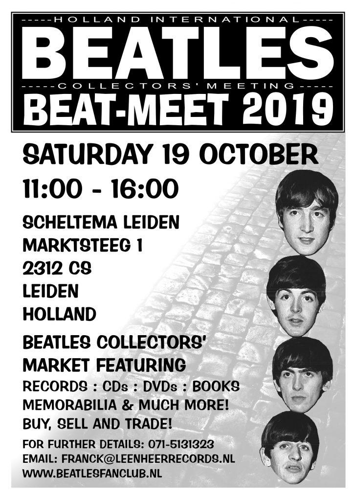 Beatles Collectors Meeting Beat-Meet 2019