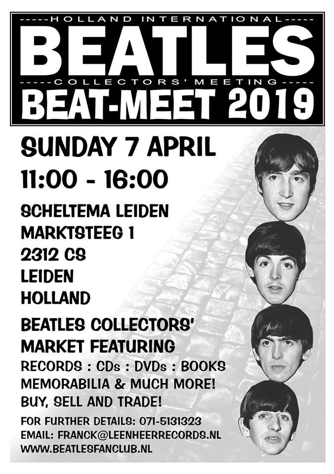 beurs voor Beatles verzamelaars