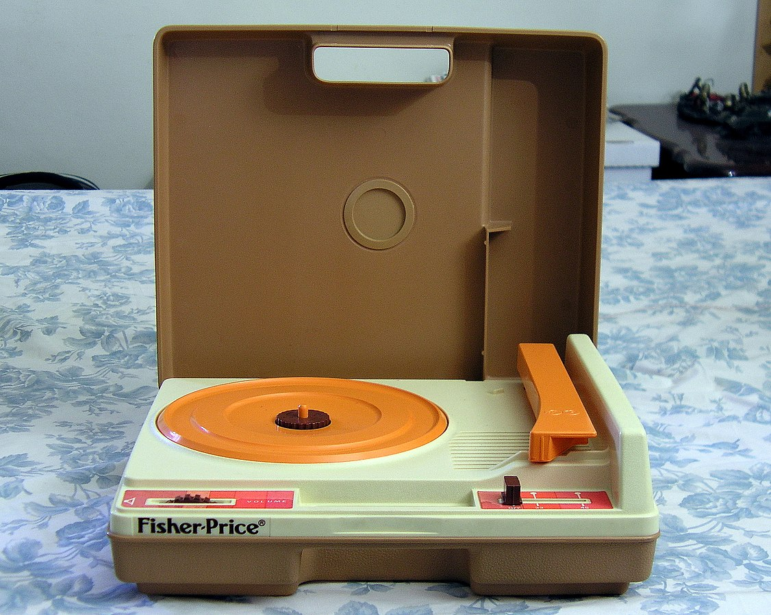 Fisher Price platenspeler