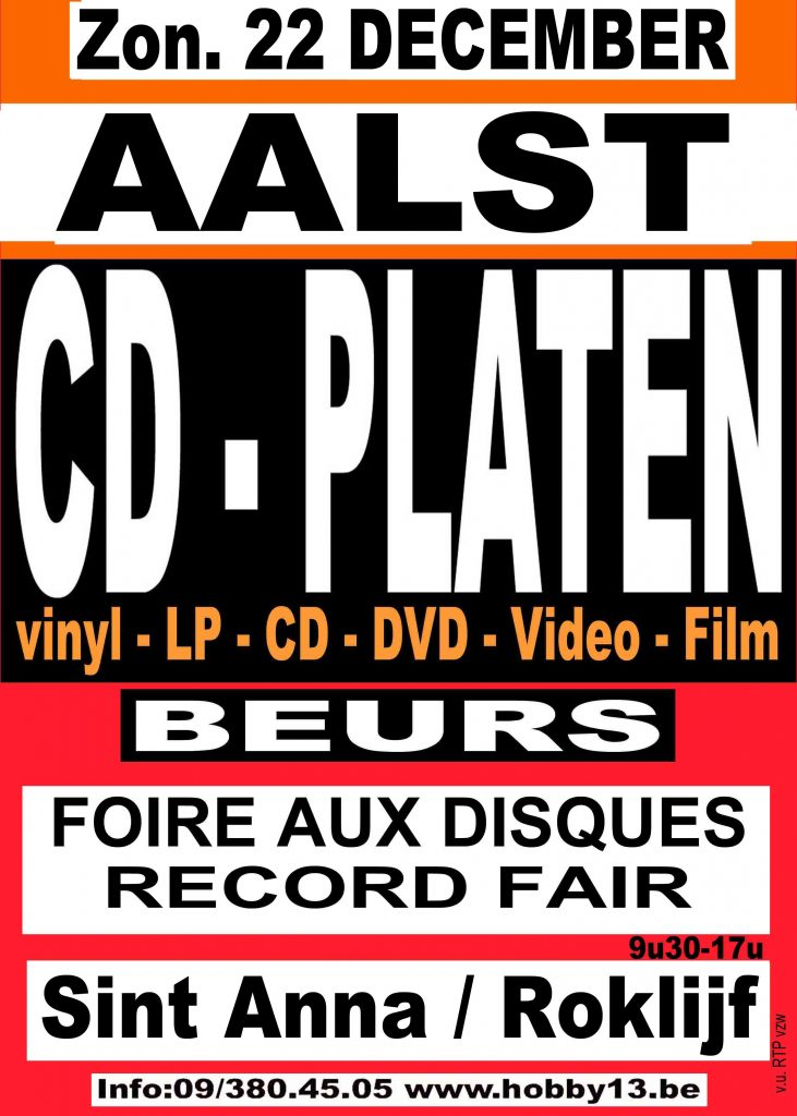 Cd & Platenbeurs in Aalst