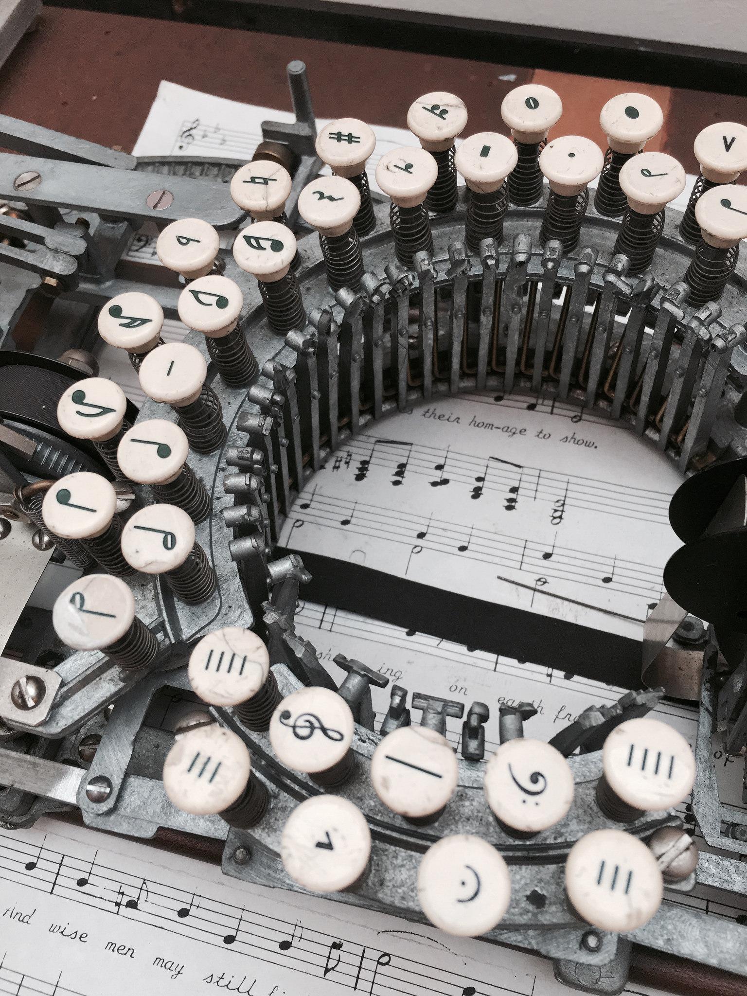 muziektypemachine
