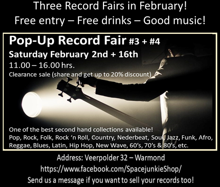 Pop-Up Record Fair #3
