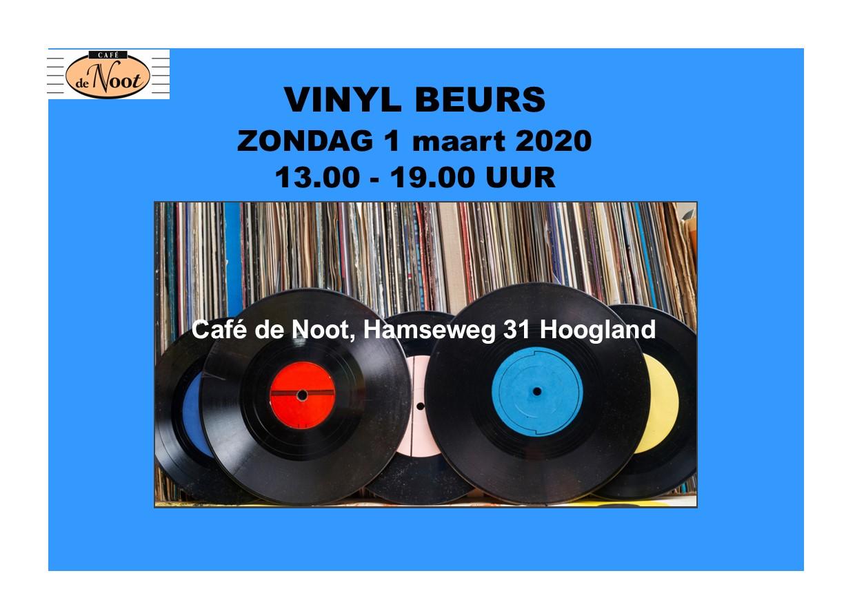 Vinylbeurs in Café de Noot