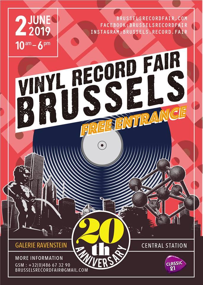 Vinyl Record Fair in Brussel