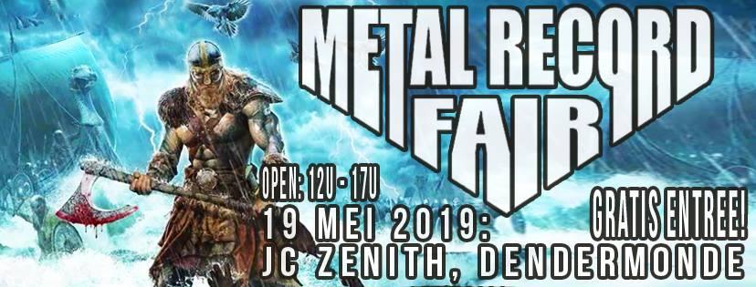 Metal Record Fair Dendermonde 2019