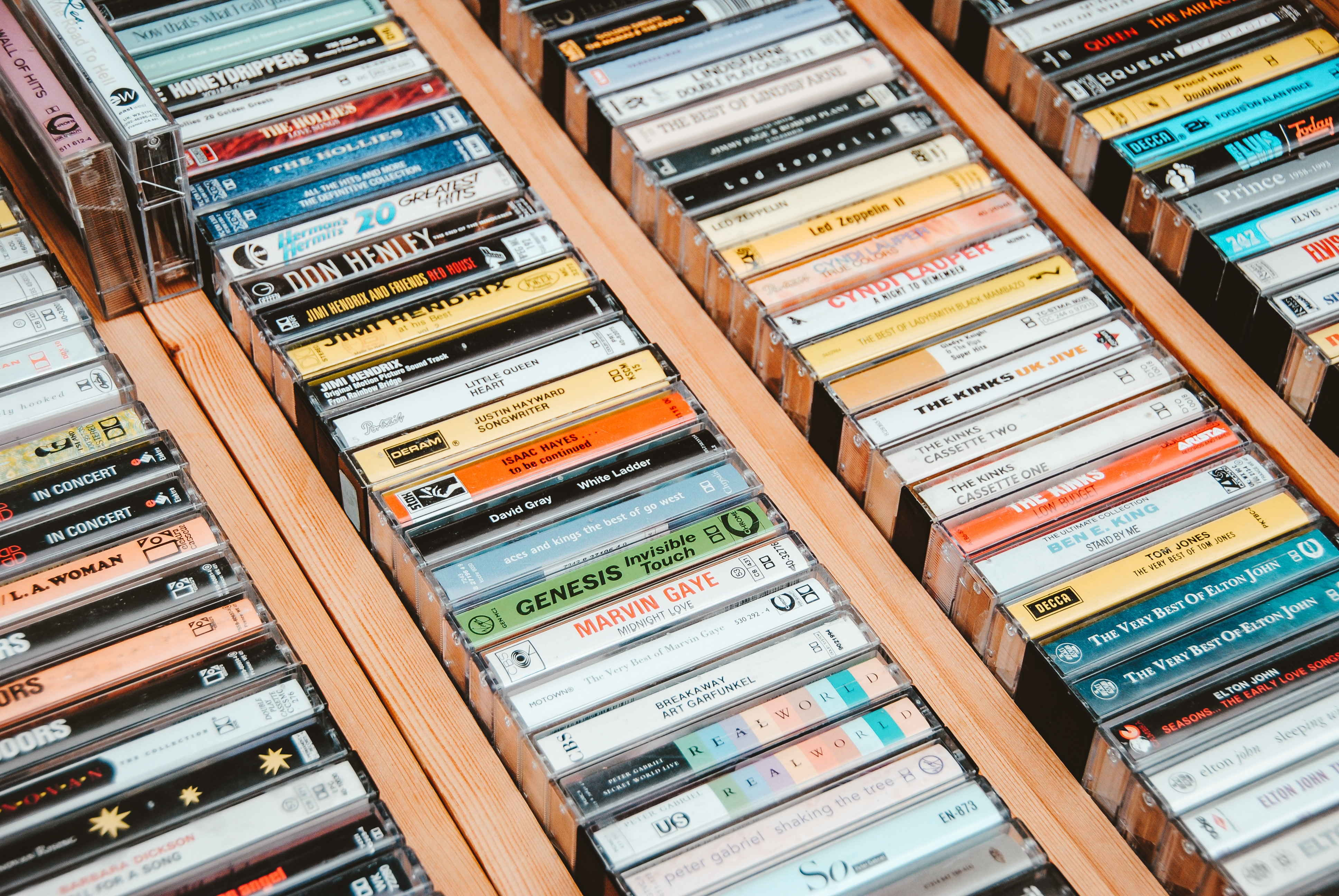 duurste cassettebandjes