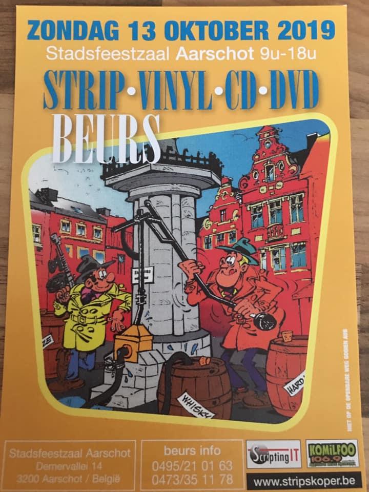 Strip, vinyl, dvd, cdbeurs in Aarschot