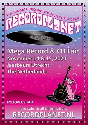 Mega Platen & CD Beurs in Jaarbeurs Utrecht
