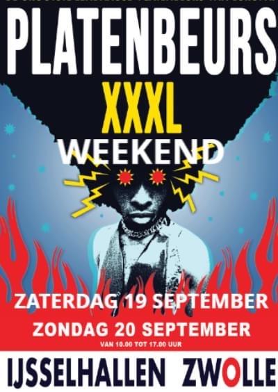Platenbeurs XXXL in Zwolle