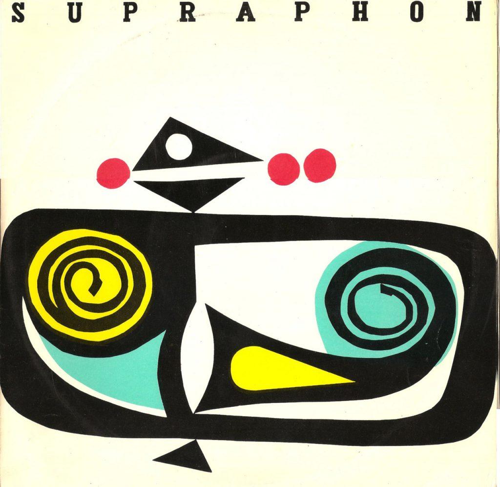 Supraphon platenhoes